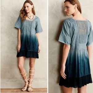 Holding horses dipped ocean ombré tunic dress sm